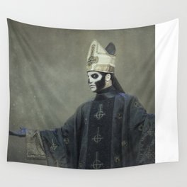 Ghost - Papa Emeritus III Wall Tapestry