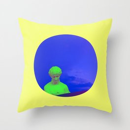 When Rodin met Rozendaal - Part 4 Throw Pillow