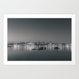Porto in Black and White II Art Print