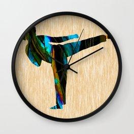 Martial Art Wall Clock