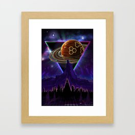 Summon the Future Framed Art Print