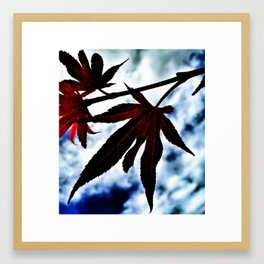 Just one touch of chill Framed Art Print