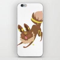 umbreon iPhone & iPod Skins featuring Umbreon by Dani Tea