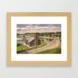 Pump House at Ascensior 4  Framed Art Print