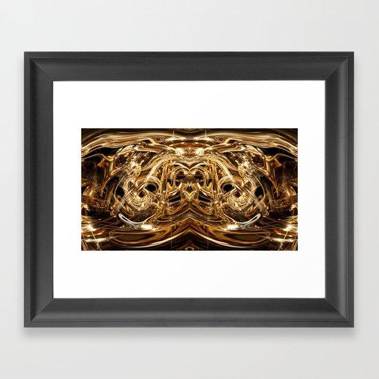 oro duo Framed Art Print