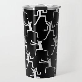 tai chi black Travel Mug