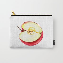 Half of apple watercolor Carry-All Pouch