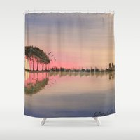 guitar Shower Curtains featuring Guitar by OLHADARCHUK