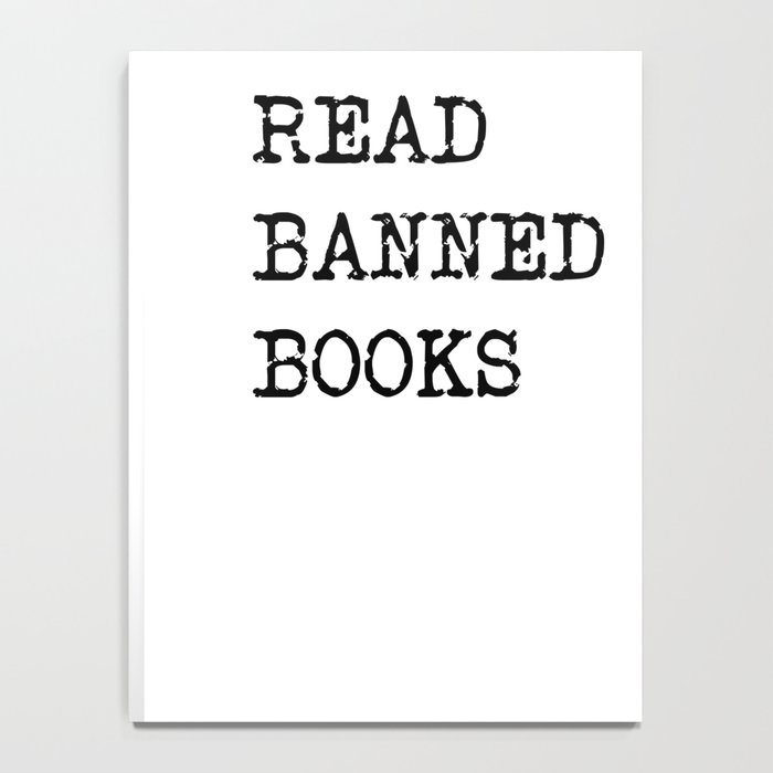 Read Banned Books Notebook
