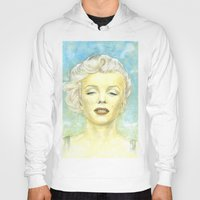 comic book Hoodies featuring Marilyn Monroe comic book cover by Storm Media