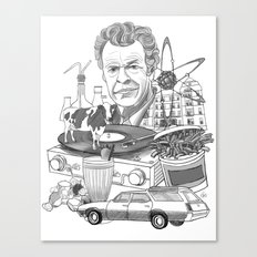 All Things Walter Canvas Print