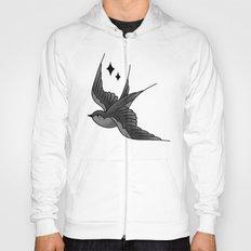 Swallow Flash - mono Hoody