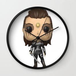Lexa Toy Wall Clock
