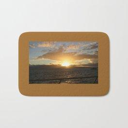 Hawaiian Sunset Bath Mat