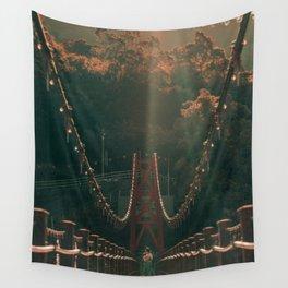 Taiwan bridge Wall Tapestry
