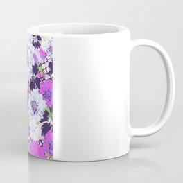Croc Floral Goes Purple Coffee Mug