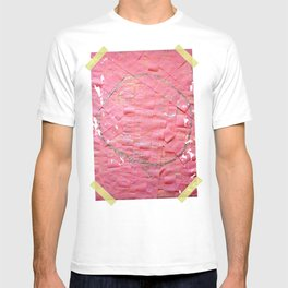 Smile on a pink toilet paper T-shirt
