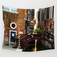 venice Wall Tapestries featuring Venice by youngkinderhook
