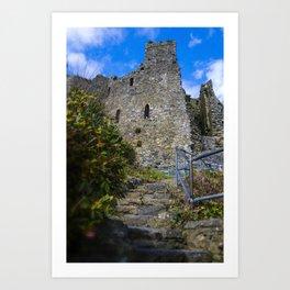 King Johns Castle Art Print