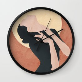 Before the Sunset Wall Clock