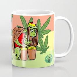 rasta marihuana turtle Coffee Mug