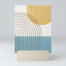 Sunny ocean Mini Art Print