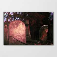 Sunset Stones (version 2) Canvas Print