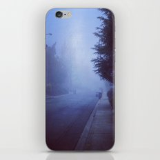 Night road iPhone & iPod Skin