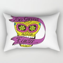 La Grand Fiesta Rectangular Pillow
