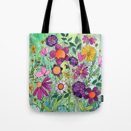 Purple Plum Parfait Tote Bag