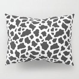 Black and White Cow Print Pillow Sham