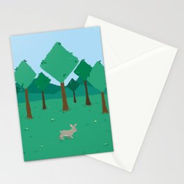 Bunny in Summer Stationery Cards
