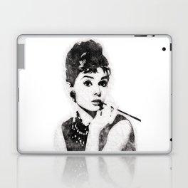 Audrey Hepburn portrait 04 Laptop & iPad Skin