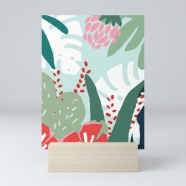 Aqua Paradise Mini Art Print