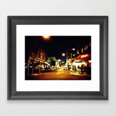 Cuba Street Framed Art Print