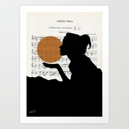 Music in the sun Art Print