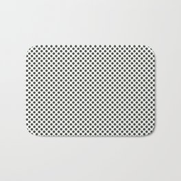 Duffel Bag Polka Dots Bath Mat