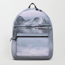 Mountains + Lake Backpack