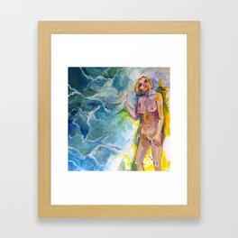 Stressors// Framed Art Print