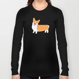 Fun Pembroke Welsh Corgi Pattern Long Sleeve T-shirt