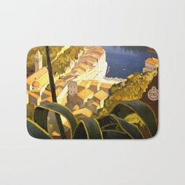La Riviera italienne, Portofino près de S.Margherita et Rapallo Bath Mat