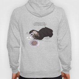 Ingredients to be Cute & Famous (With Om Nom Otter) Hoody