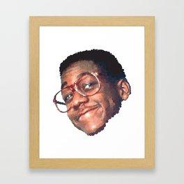 U R K E L ///////// Framed Art Print