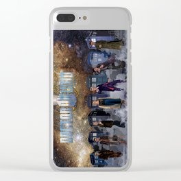 7 Doctors and the Daleks Clear iPhone Case