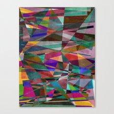 Geometric Madness 2 Canvas Print