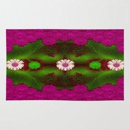 Meadow of florals Rug