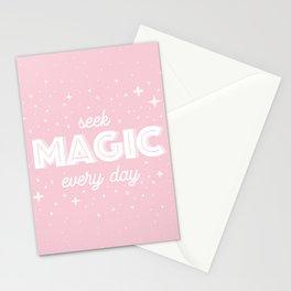 Seek Magic Stationery Cards