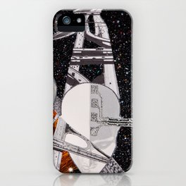 Intersecting Paths iPhone Case