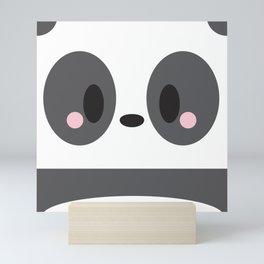 Panda Block Mini Art Print