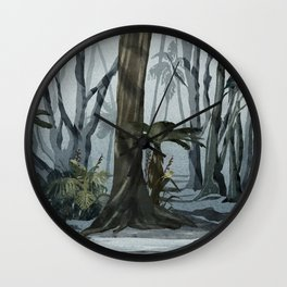 NZ Woodland Wall Clock
